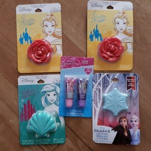 5 NWT SEALED Disney Princess & Frozen 2 lip gloss